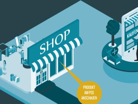 Warum viele erst ins Geschäft gehen, bevor sie online kaufen.